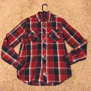 Like New Eighty Eight Red Flannel Size Medium